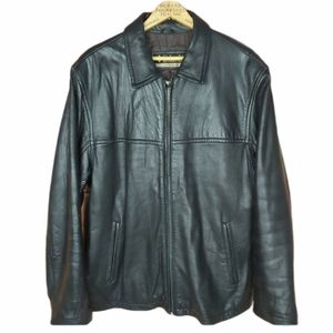 Columbia genuine super soft leather winter coat